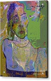 Dismay Acrylic Print by Noredin Morgan
