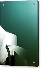Disney Concert Hall 3- Photograph By Linda Woods Acrylic Print by Linda Woods