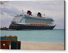 Disney Dream Acrylic Print by Michael Albright