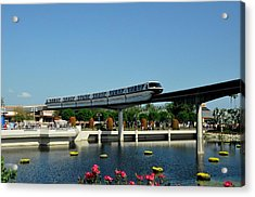 Disney Monorail Acrylic Print
