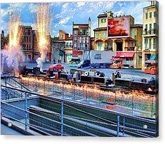 Disney Orlando Acrylic Print by Francesco Roncone