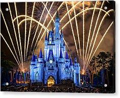Disney World Acrylic Print