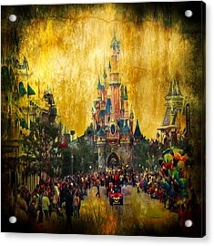 Disney World Acrylic Print
