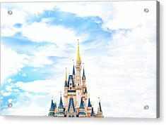 Disneyland Acrylic Print by Happy Home Artistry