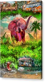 Disney's Jungle Cruise Acrylic Print