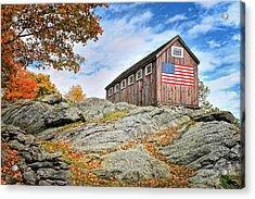 Display Of Colors - Roxbury Barn  Acrylic Print