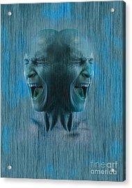 Dissociative Identity Disorder Acrylic Print by George Mattei