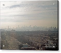 Distant City Acrylic Print