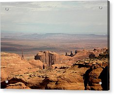 Acrylic Print featuring the photograph Distant Mesa by Fred Wilson