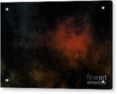 Distant Nebula Acrylic Print by Michal Boubin