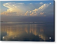 Acrylic Print featuring the photograph Distant Thunder by HH Photography of Florida