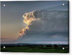 Distant Thunderstorm Acrylic Print