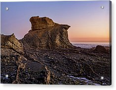 Distinctive Rock Aliso Beach Acrylic Print