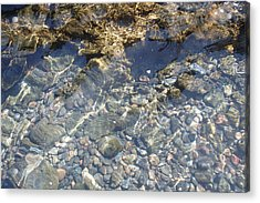 Distortion - Clear Waters Acrylic Print