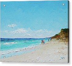 Ditch Plains Beach Montauk Hamptons Ny Acrylic Print