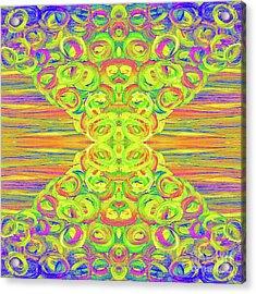 Ditto Acrylic Print by Rachel Hannah