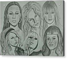 Divas Now Acrylic Print