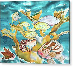 Divers Wet Dream Acrylic Print