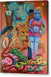 Diversity Acrylic Print by Nadine Rippelmeyer
