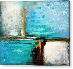 Acrylic Print featuring the painting Divided Loyalties by Suzanne McKee