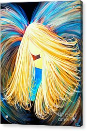 Divine Angel Acrylic Print