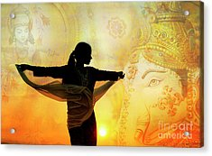 Acrylic Print featuring the photograph Divine Dance by Tim Gainey