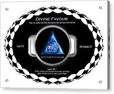 Divine Favour Acrylic Print