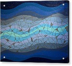 Divine Flow Acrylic Print