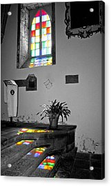 Divine Light Acrylic Print by Rosemary Aubut
