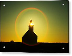 Divine Light Acrylic Print by Todd Klassy