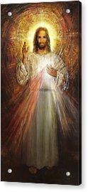Divine Mercy, Sacred Heart Of Jesus 1 Acrylic Print