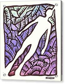 Diving On Guam 2009 Acrylic Print