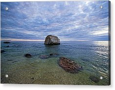 Diving Rock Acrylic Print
