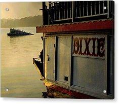 Dixie Boat Ski Ramp Acrylic Print