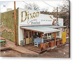 Acrylic Print featuring the photograph Dixon Market, New Mexico by Britt Runyon