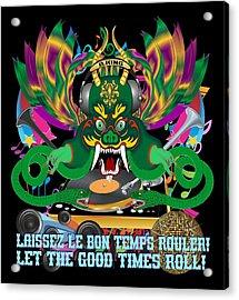 Dj Dragon6 King All Products Acrylic Print