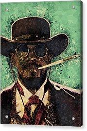 Django Unchained  Acrylic Print