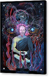 Dmt - The Spirit Molecule Acrylic Print by Steve Griffith