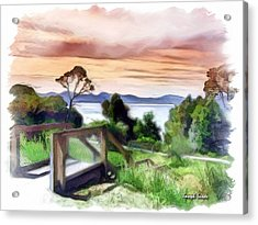 Do-00272 Look Out From Sarah Island Acrylic Print