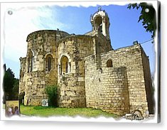 Do-00344 Church Of St John Marcus In Byblos Acrylic Print
