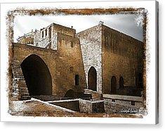 Do-00422 St Gilles Citadelle Acrylic Print by Digital Oil