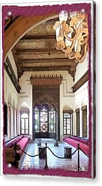 Do-00448 Reception Room At Beiteddine Acrylic Print