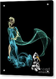 Do I Want To Build A Snowman Acrylic Print