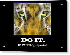 Do It Motivational Acrylic Print