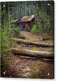 Acrylic Print featuring the photograph Do Not Enter by Alan Raasch