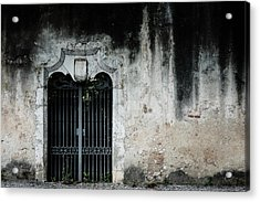 Acrylic Print featuring the photograph Do Not Enter by Marco Oliveira