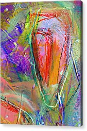 Do Over In Color 2 Acrylic Print by Shelley Graham Turner