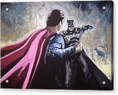 Do You Bleed... Acrylic Print by Paul Mitchell