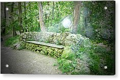 Acrylic Print featuring the photograph Do You Want To Take A Rest by Bee-Bee Deigner