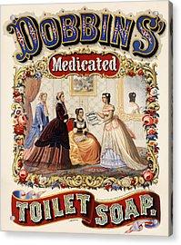 Dobbins Medicated Toilet Soap Acrylic Print